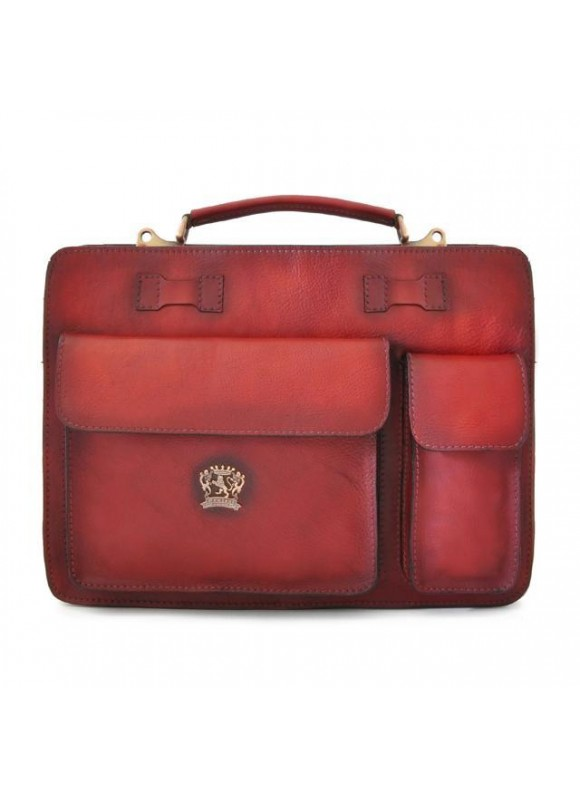 Pratesi Business Bag Milano Small in cow leather - Bruce Chianti