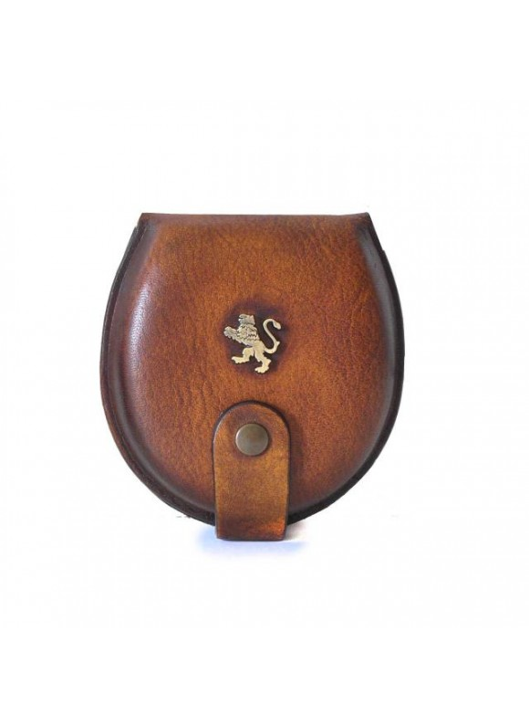 Pratesi Coin Holder in cow leather - Bruce Brown