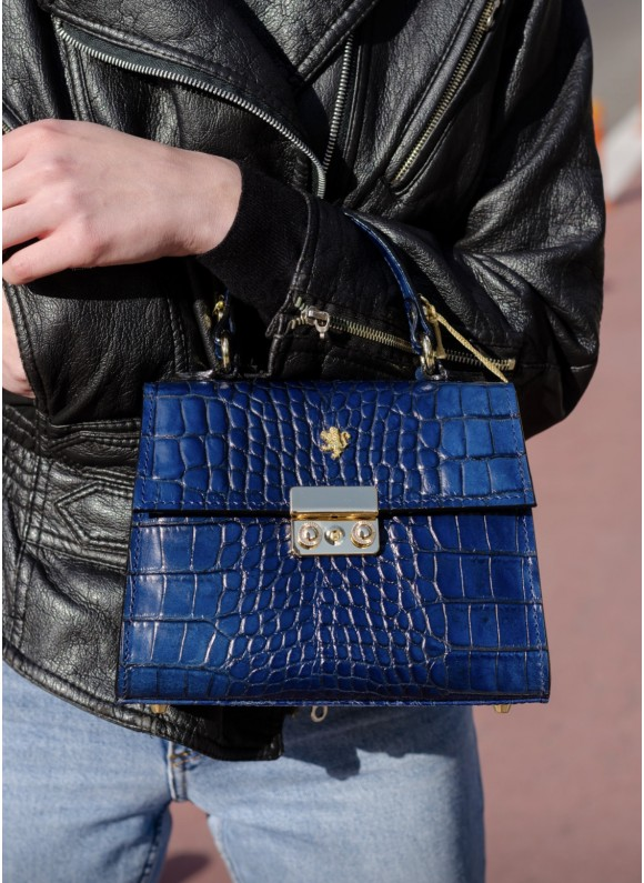 Pratesi Artemisia Lady Bag in cow leather - King Blu