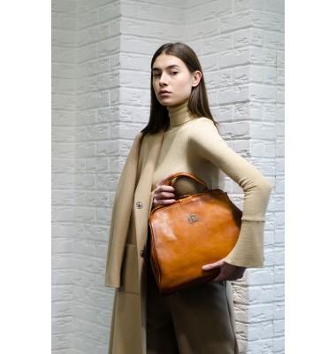 "Pratesi Firenze Bag ""Monteriggioni"" - Bruce Cognac"