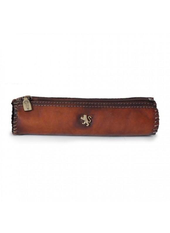 Pratesi Pencilcase in cow leather 096 - Bruce Brown