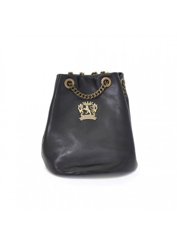 Pratesi Pienza Bag in cow leather - Bruce Black