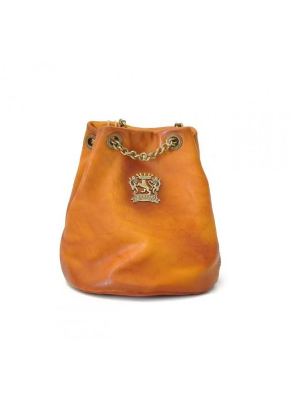 Pratesi Pienza Bag in cow leather - Bruce Cognac
