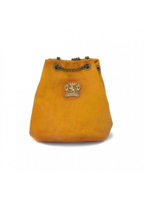 Pratesi Pienza Bag in cow leather - Bruce Mustard