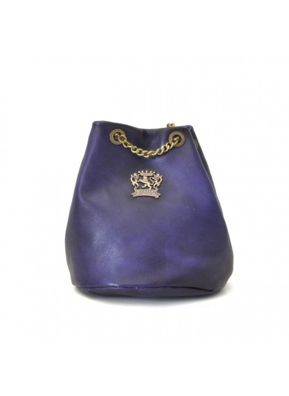Pratesi Pienza Bag in cow leather - Bruce Violet