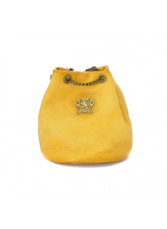Pratesi Pienza Bag in cow leather - Bruce Yellow