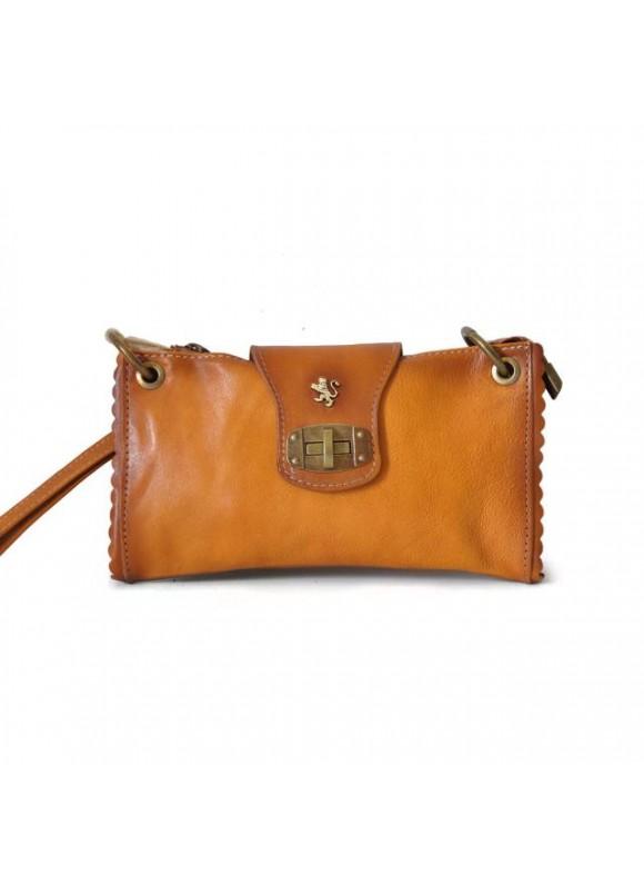 Pratesi Woman Bag Pontremoli in cow leather - Bruce Cognac