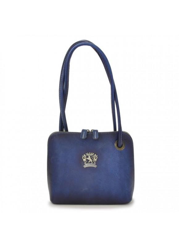 Pratesi Roccastrada Woman Bag in cow leather - Bruce Blue