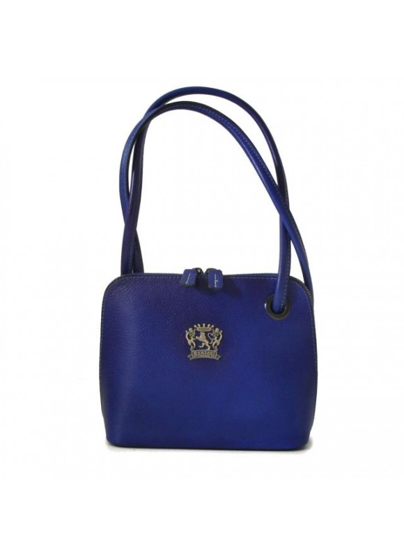Pratesi Roccastrada Woman Bag in cow leather - Bruce Electric Blue