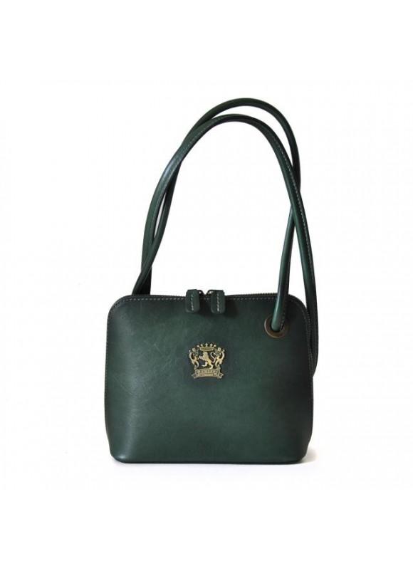 Pratesi Roccastrada Woman Bag in cow leather - Bruce Dark Green
