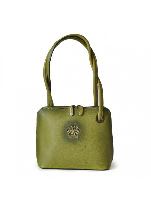 Pratesi Roccastrada Woman Bag in cow leather - Bruce Light Green