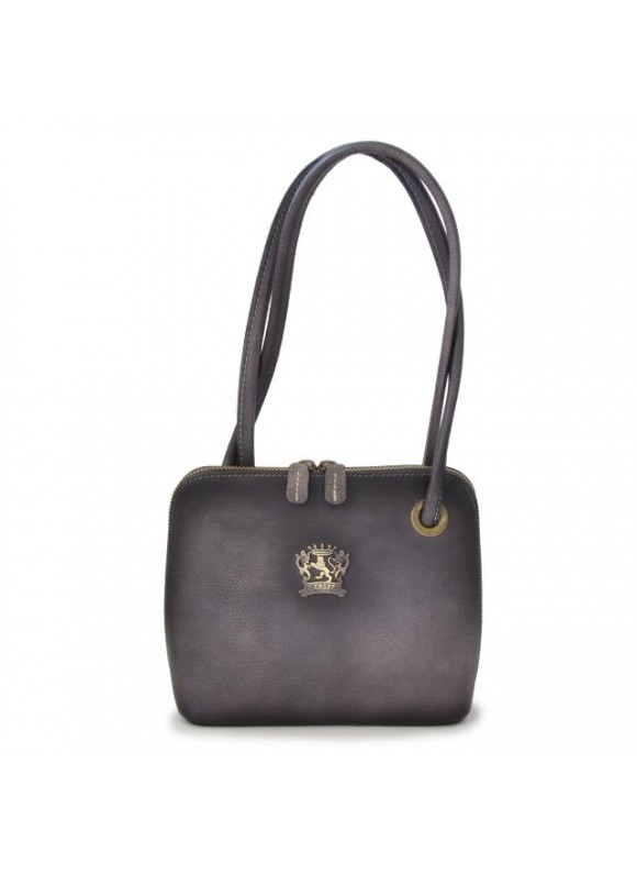 Pratesi Roccastrada Woman Bag in cow leather - Bruce Grey