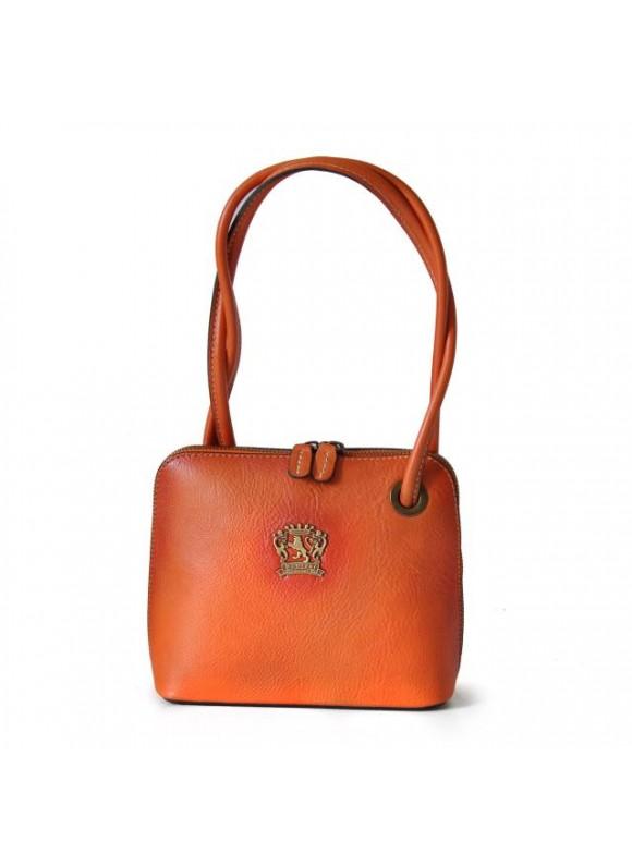 Pratesi Roccastrada Woman Bag in cow leather - Bruce Orange