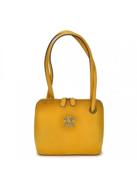 Pratesi Roccastrada Woman Bag in cow leather - Bruce Yellow
