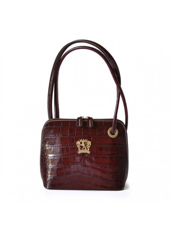 Pratesi Roccastrada King Woman Bag in cow leather - King Brown
