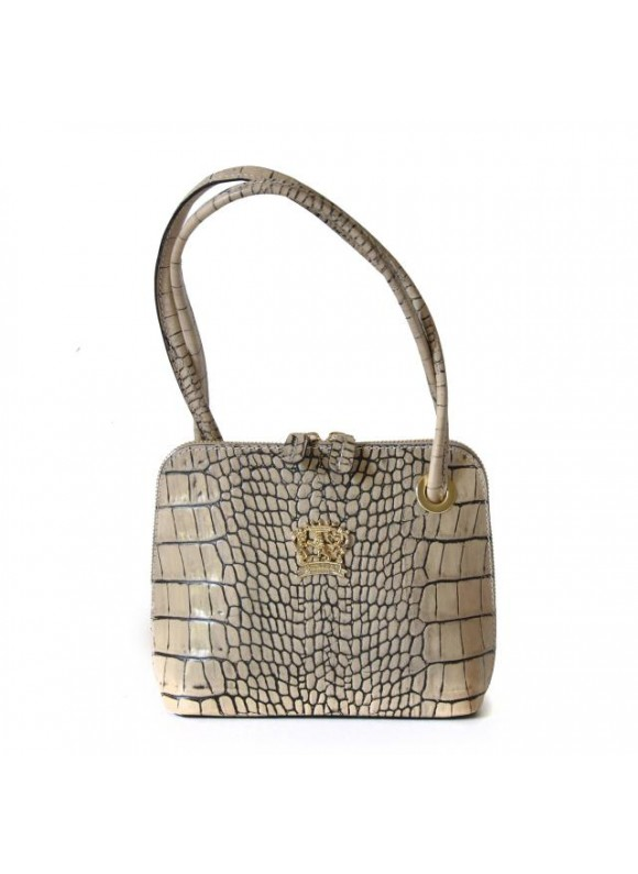 Pratesi Roccastrada King Woman Bag in cow leather - King Panna