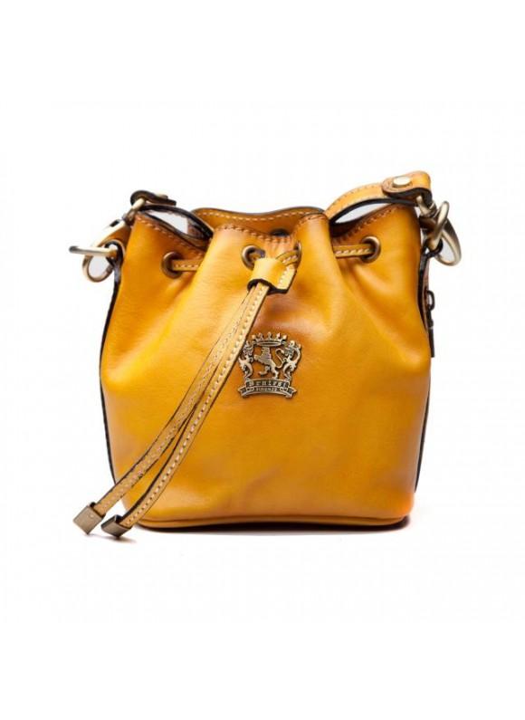 Pratesi Sorano Small Woman Bag in cow leather - Bruce Cognac