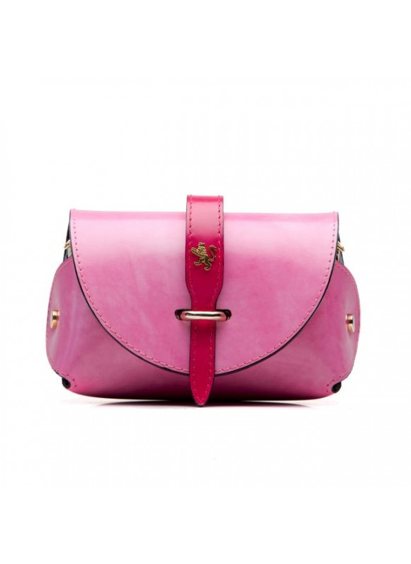 Pratesi Tote Bag Buonconvento in cow leather - Radica Pink