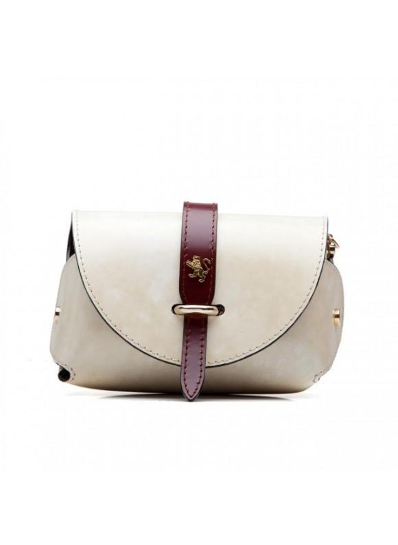 Pratesi Tote Bag Buonconvento in cow leather - Radica White