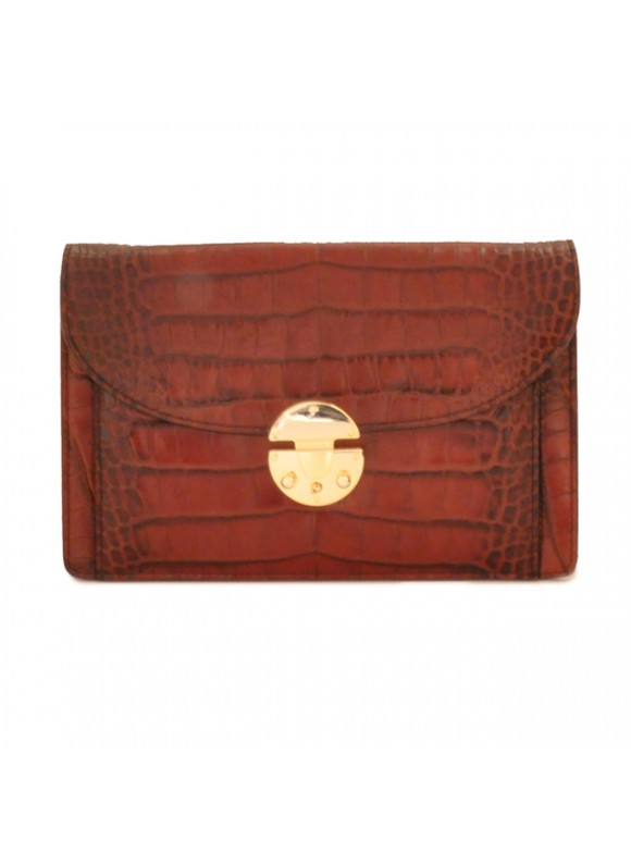 'Pratesi Tullia d''Aragona King Woman Bag in cow leather - King Brown'