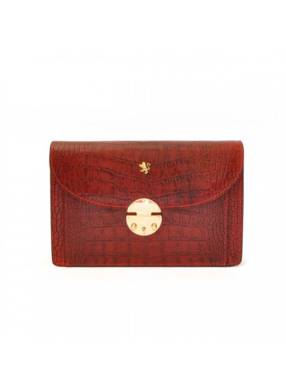 'Pratesi Tullia d''Aragona King Woman Bag in cow leather - King Cherry'