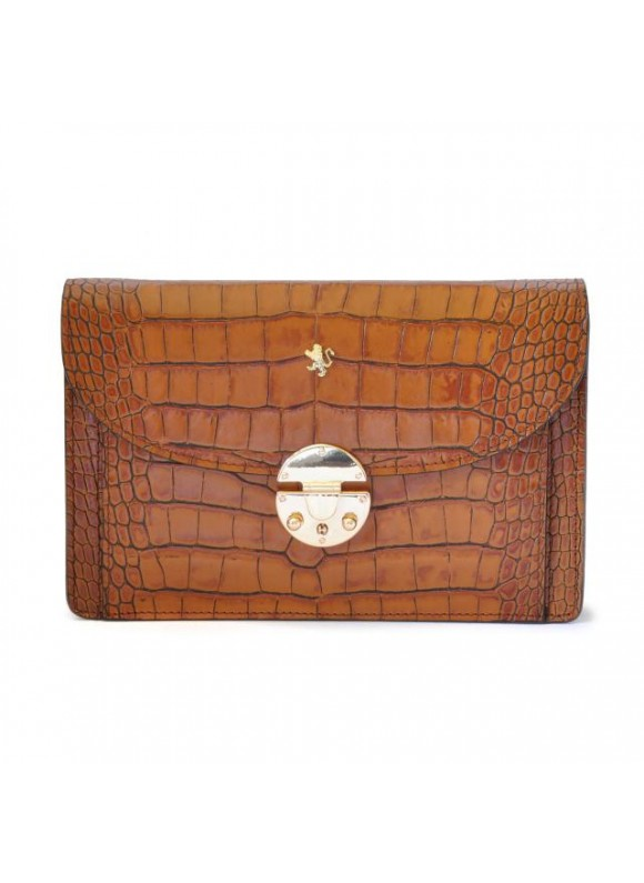 'Pratesi Tullia d''Aragona King Woman Bag in cow leather - King Cognac'