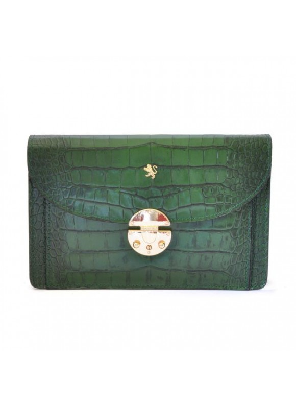 'Pratesi Tullia d''Aragona King Woman Bag in cow leather - King Green'