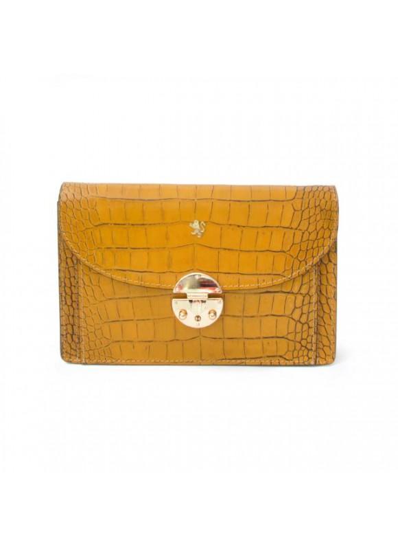 'Pratesi Tullia d''Aragona King Woman Bag in cow leather - King Mustard'