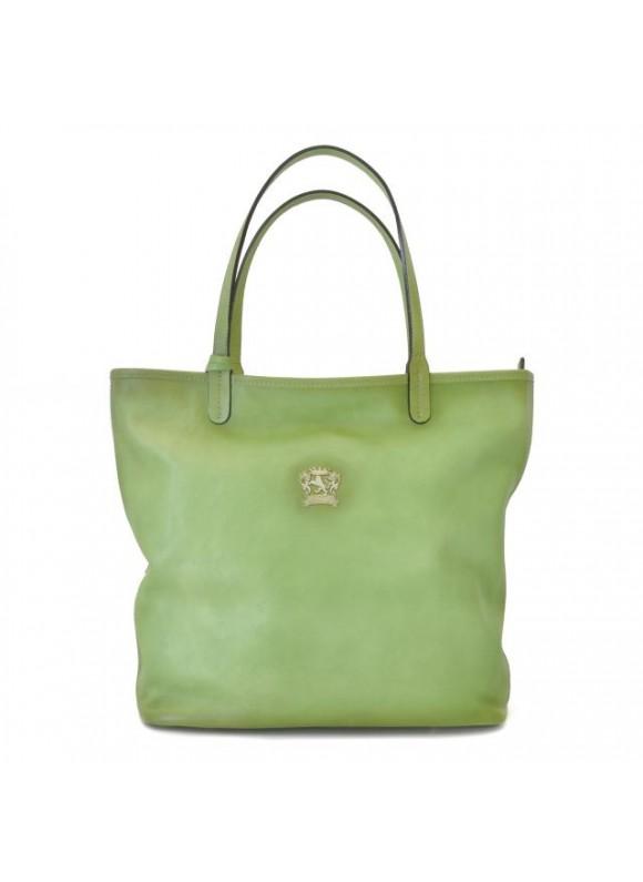 Pratesi Monterchi Tote Bag in cow leather - Bruce Green