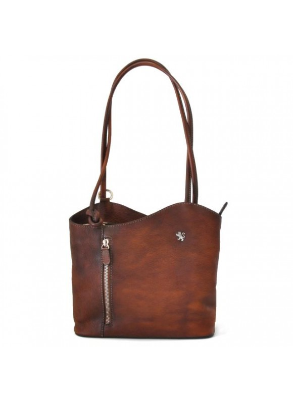 Pratesi Shoulder Bag Consuma Small in cow leather - Bruce Brown