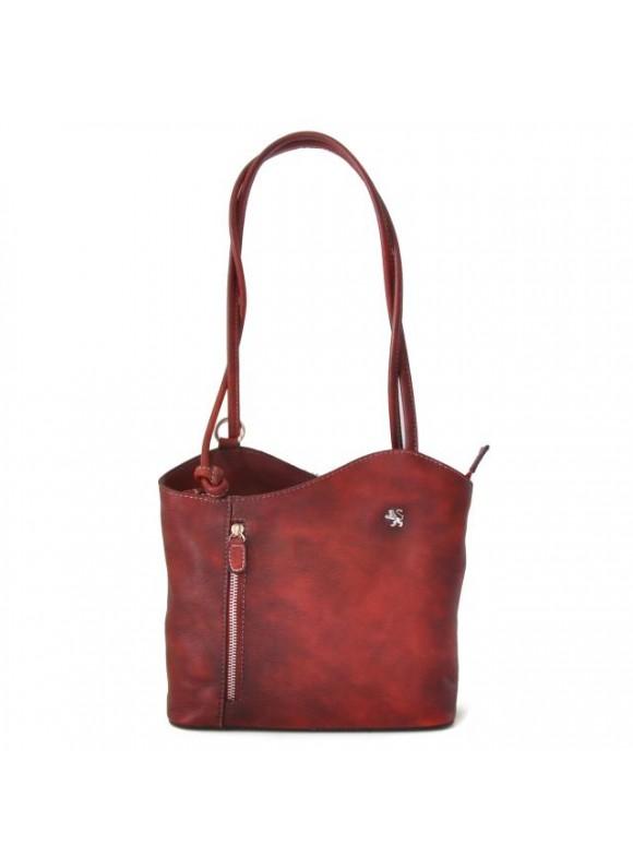 Pratesi Shoulder Bag Consuma Small in cow leather - Bruce Chianti