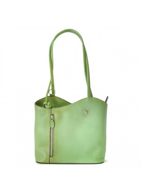 Pratesi Shoulder Bag Consuma Small in cow leather - Bruce Green