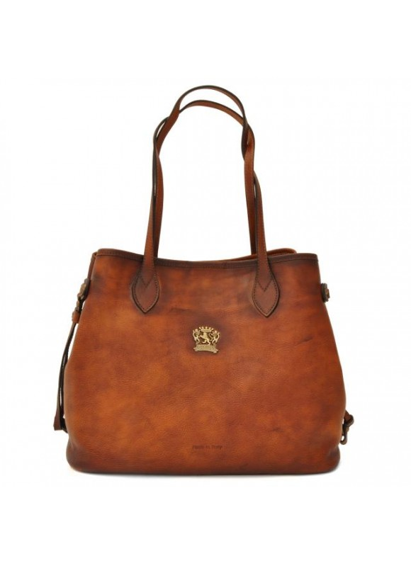 Pratesi Vetulonia Shoulder Bag in cow leather - Bruce Brown
