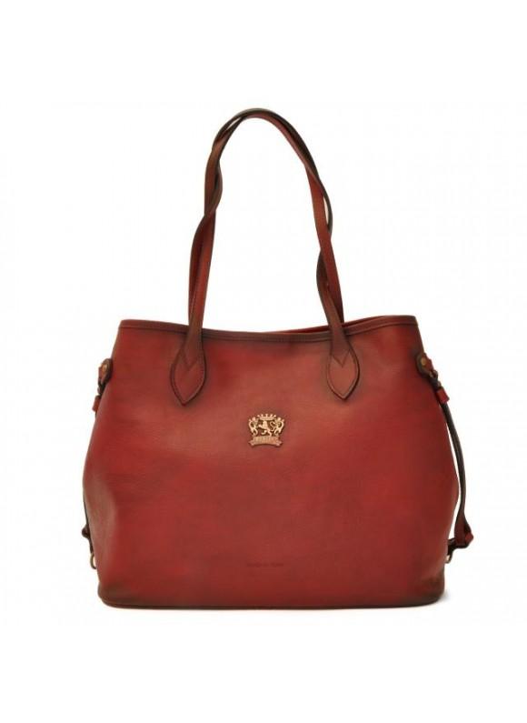 Pratesi Vetulonia Shoulder Bag in cow leather - Bruce Chianti