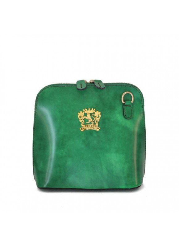 Pratesi Volterra Woman Clutches in cow leather - Radica Emerald