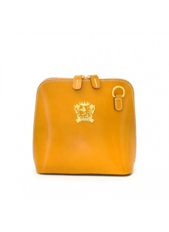 Pratesi Volterra Woman Clutches in cow leather - Radica Mustard