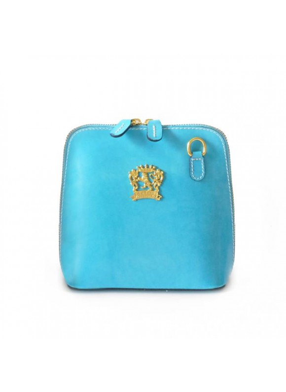 Pratesi Volterra Woman Clutches in cow leather - Radica Sky Blue