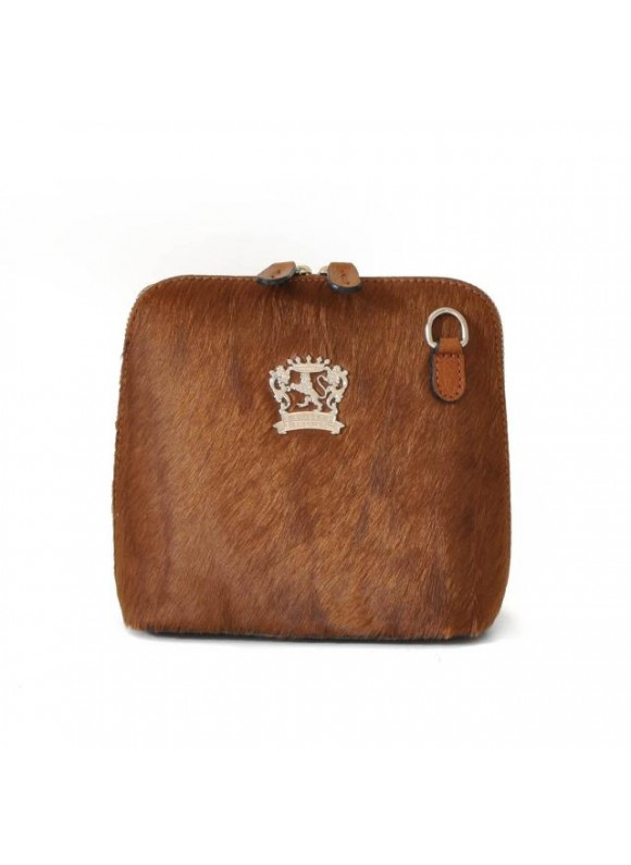 Pratesi Volterra Woman Clutches in cow leather - Cavallino Brown