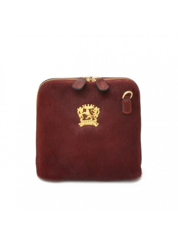 Pratesi Volterra Woman Clutches in cow leather - Cavallino Chianti