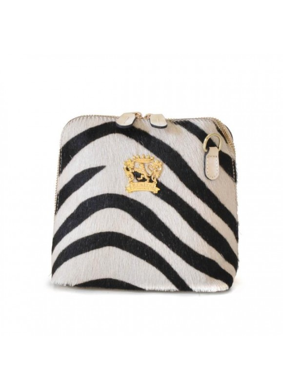Pratesi Volterra Woman Clutches in cow leather - Cavallino Zebra