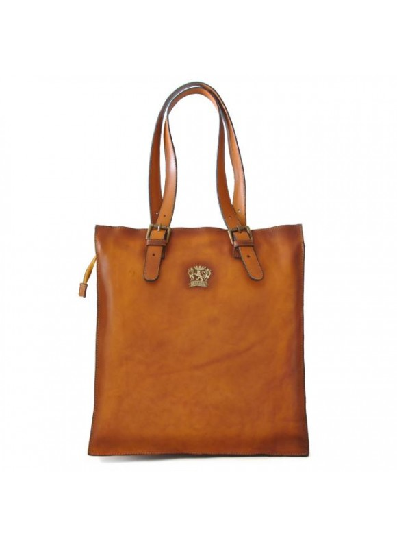 Pratesi Tote Bag Bibbiena in cow leather - Tote Bag Bibbiena in cow leather