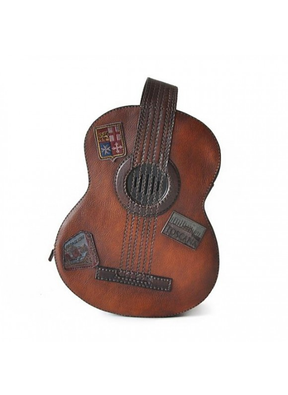 Pratesi Chitarra Small Backpack in cow leather - Bruce Brown