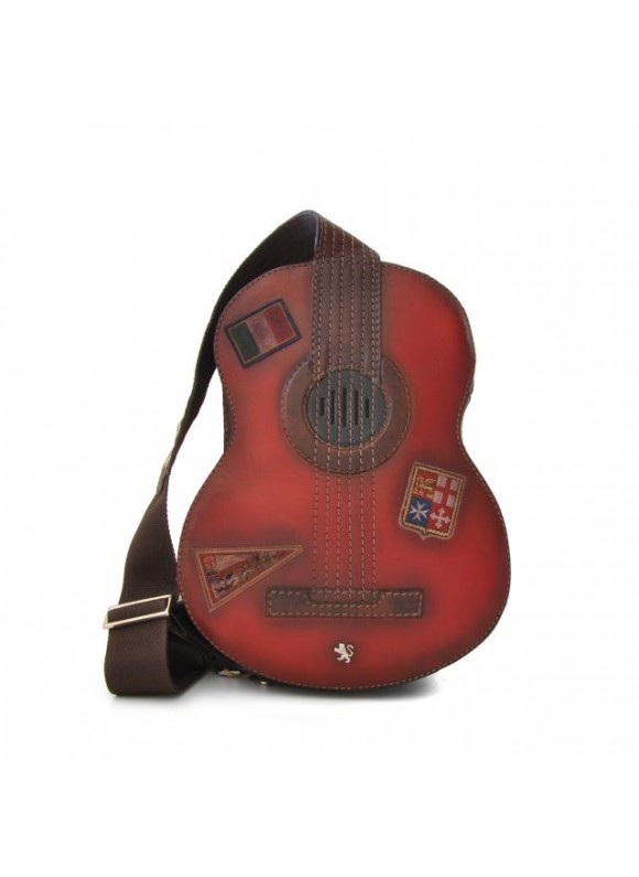 Pratesi Chitarra Small Backpack in cow leather - Bruce Chianti