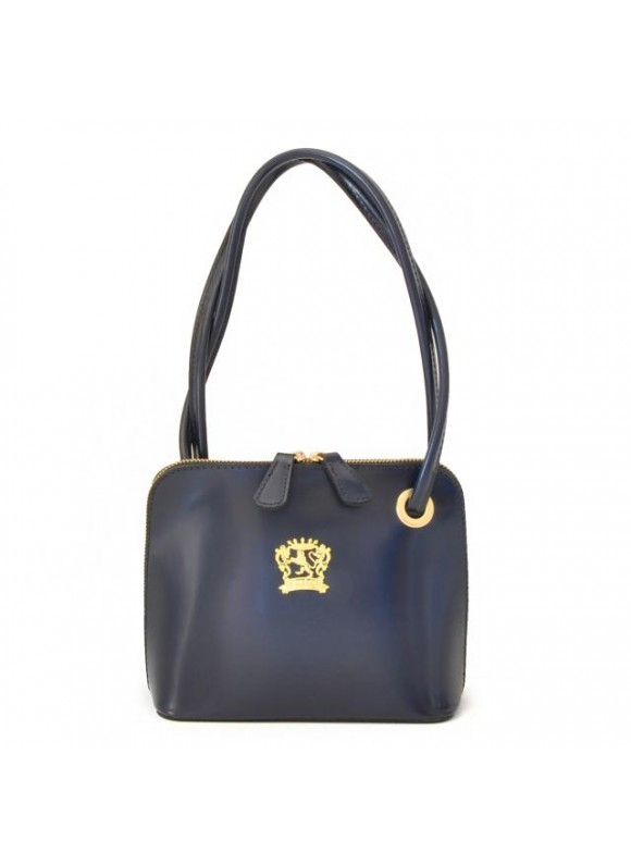 Pratesi Roccastrada Woman Bag in cow leather - Radica Blue