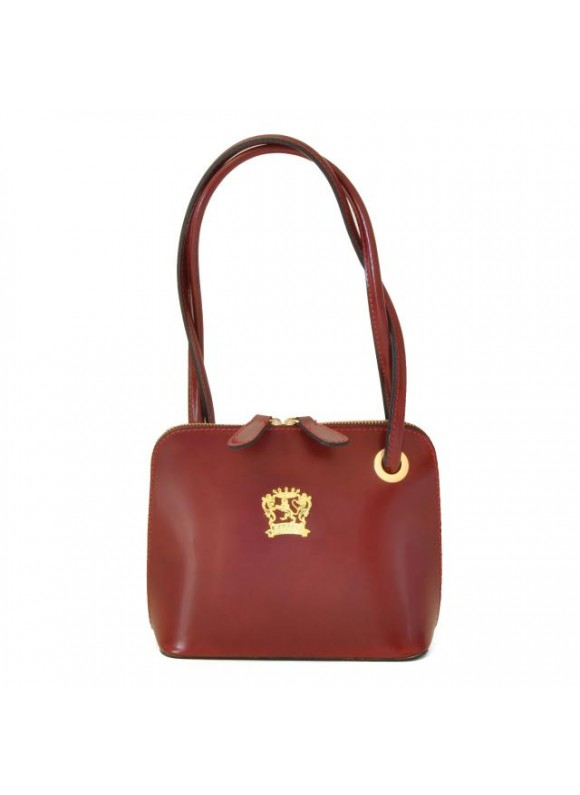 Pratesi Roccastrada Woman Bag in cow leather - Radica Chianti