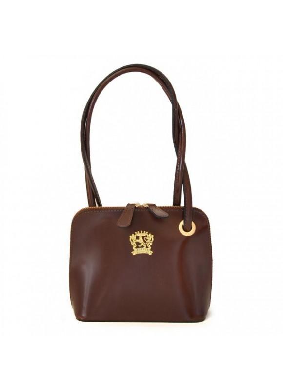 Pratesi Roccastrada Woman Bag in cow leather - Radica Coffee