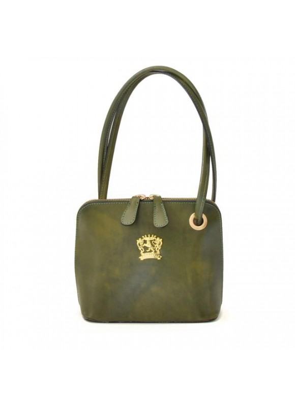Pratesi Roccastrada Woman Bag in cow leather - Radica Dark Green