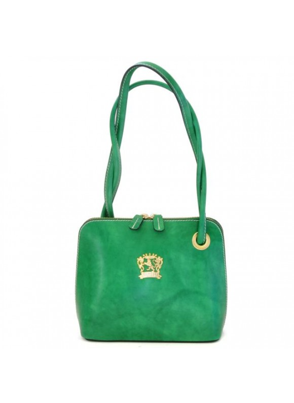 Pratesi Roccastrada Woman Bag in cow leather - Radica Emerald