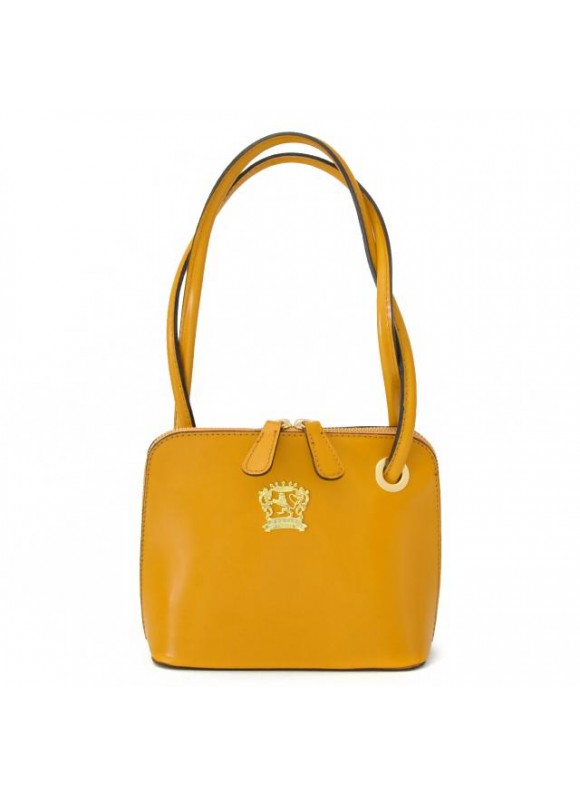 Pratesi Roccastrada Woman Bag in cow leather - Radica Mustard