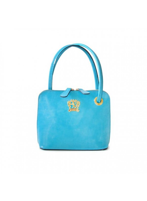Pratesi Roccastrada Woman Bag in cow leather - Radica Sky Blue